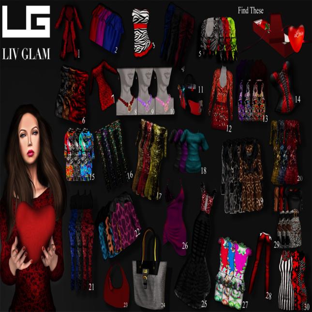 LIV-Glam Valentines Hunt 2013